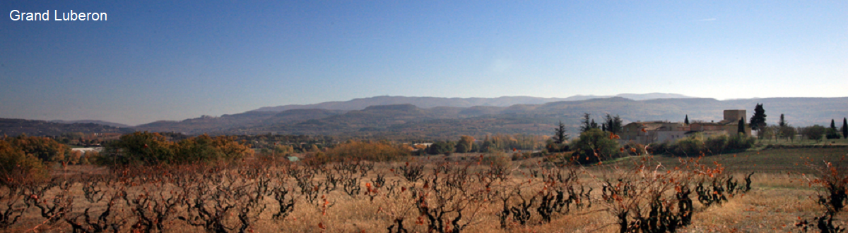 Mountain range Grand Luberon